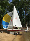 2002 Laser II sailboat