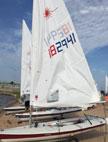 2005 Laser sailboat