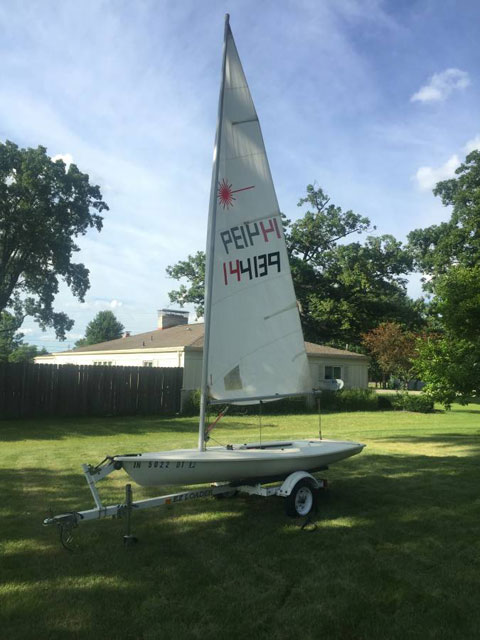 Laser, 1992 sailboat