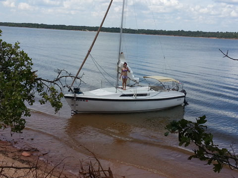 Macgregor 26s 1991 Oklahoma City Sailboat For Sale From