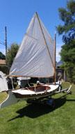 1995 Melonseed skiff