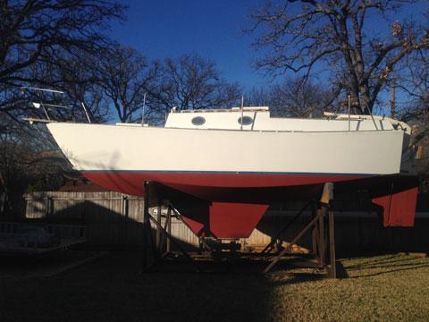 Miller 26 ft. Cutter, 1984 sailboat