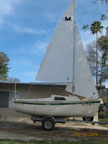 2007 Montgomery 15 sailboat