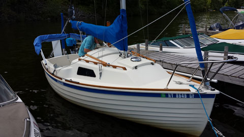 Montgomery 17 2012 Newington New Hampshire Sailboat