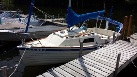 Montgomery 17, 2012 sailboat