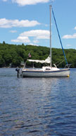 2012 Montgomery 17 sailboat