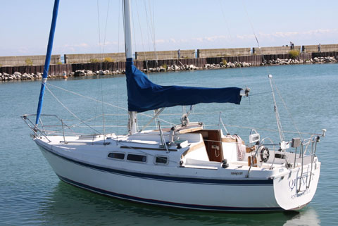 Newport 27 MKII, 1988 sailboat