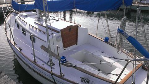 Ocean Voyager 26, 1985 sailboat