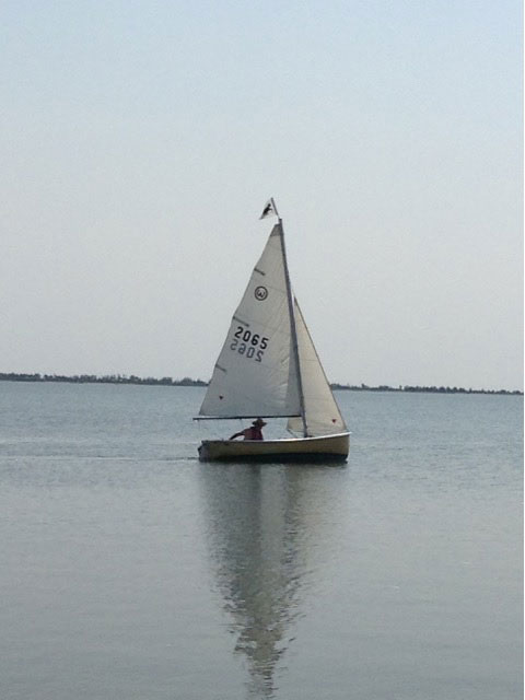 O'Day Widgeon, 12 ft., mid 1970s sailboat