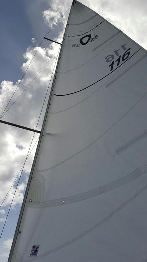 Olson 25, 1988 sailboat