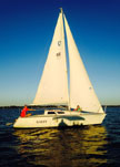 1988 Olson 25 sailboat