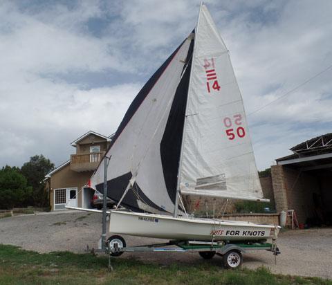 One Design 14, 1988 sailboat