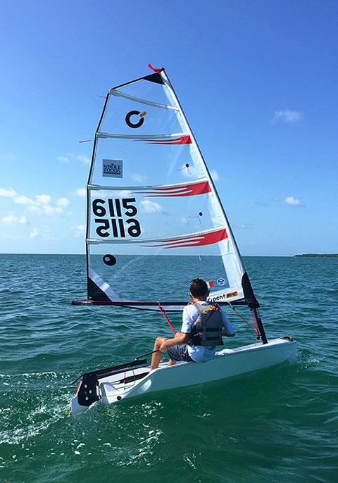 Open Bic, 2011 sailboat