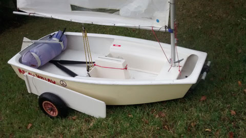 Optimist pram, 1991 sailboat