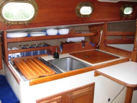 Pacific Seacraft Flicka sloop, 1982 sailboat