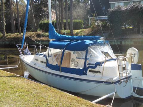 Parker Dawson 26 1982 Panama City Florida Sailboat For