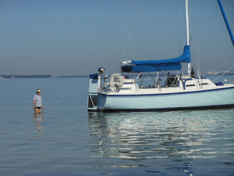 Parker Dawson 26, 1982 sailboat