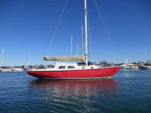 West Coast Pearson Triton, 28 ft., 1960 sailboat