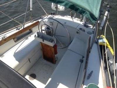 Pearson P40 masthead sloop, 1979 sailboat