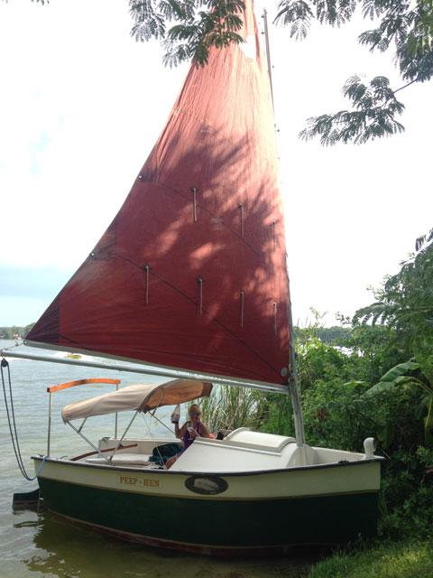 Peep Hen 14, 1988 sailboat