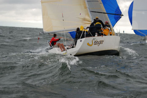 Doug Peterson design Pinnacle 29, 1987 sailboat