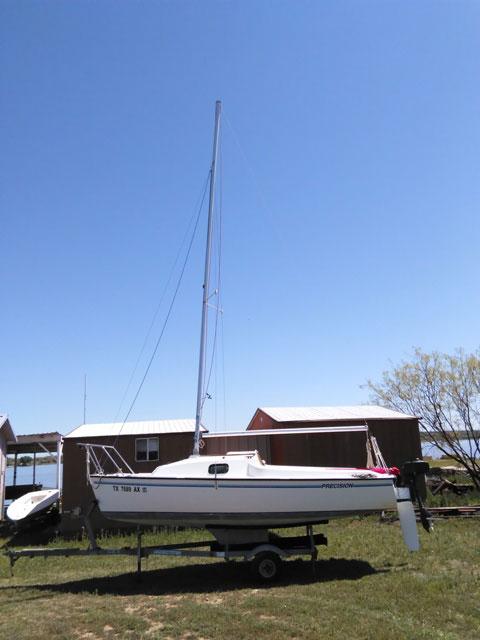 Precision 16.5, 1996 sailboat