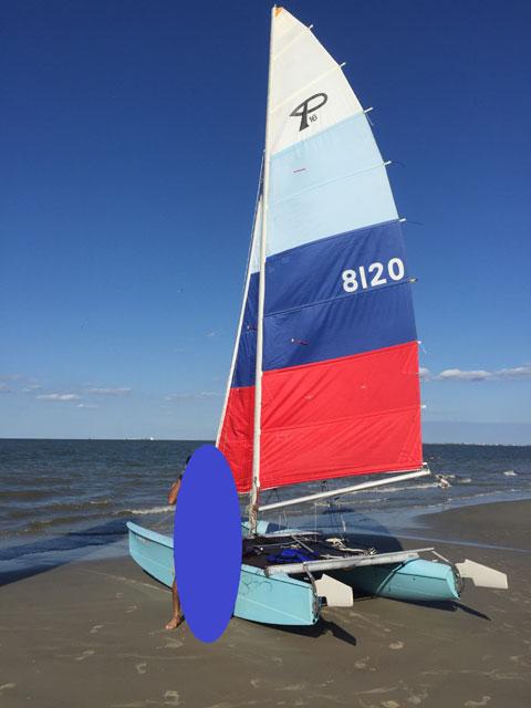 Prindle 16 Catamaran, 1984 sailboat