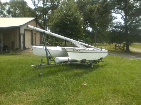 Prindle 16 catamaran, 1981, Minden, Rusk County, Texas sailboat