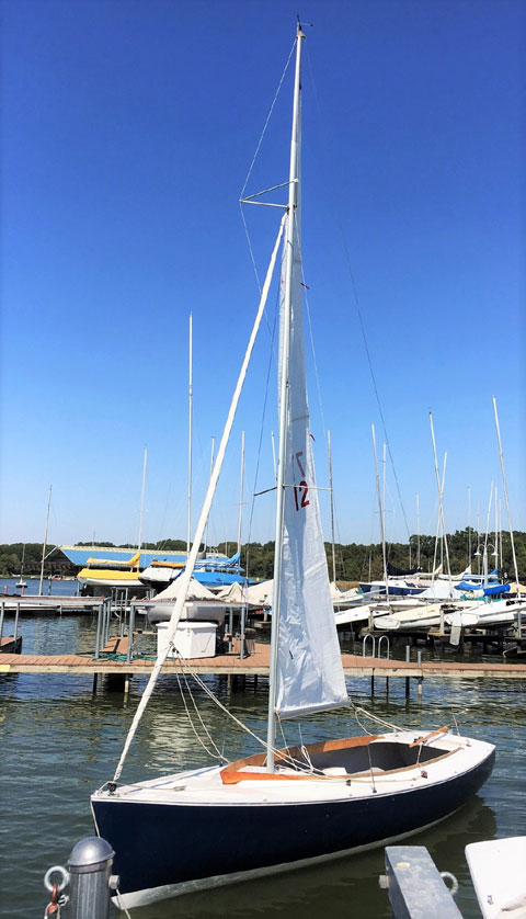 Rhodes 18, 2014 sailboat