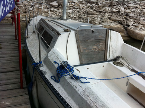 S2 7.3, 24 ft., 1984 sailboat