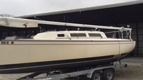 S2 7.9 Hull #228, 1983 sailboat