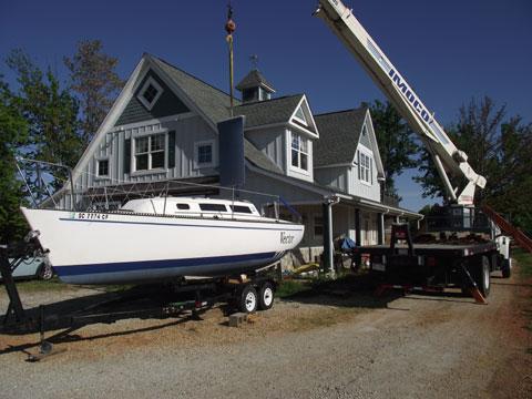 S2 7.9, 1982 sailboat