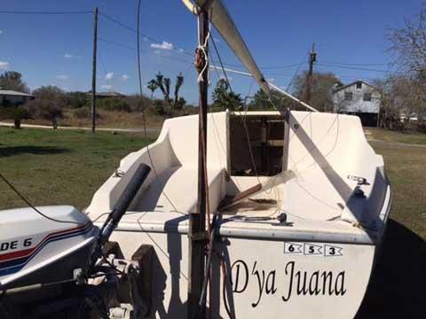 San Juan 21, 1979 sailboat