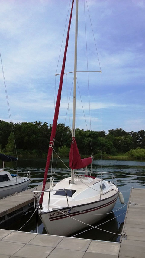San Juan 7.7, 26 ft., 1980 sailboat