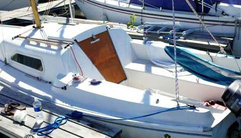 Santana 21, 1972 sailboat