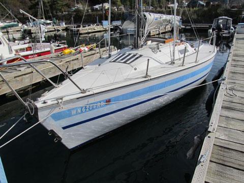 Santana 23D, 1981 sailboat