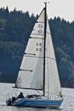 1981 Santana 23D sailboat