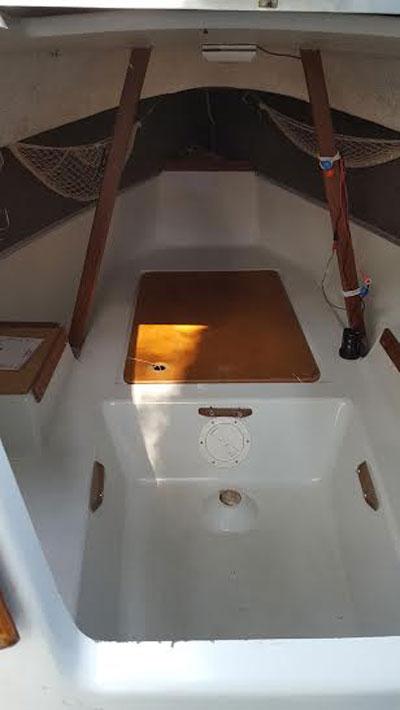 Seaward Fox, 1988, 17' sailboat
