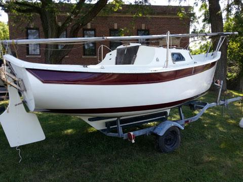 Seaward 17, 1986 sailboat