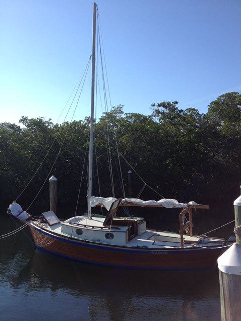 Sharpie, 22 ft., 2015 sailboat