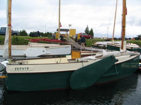 Martha Jane Sailing Sharpie, 1986 sailboat