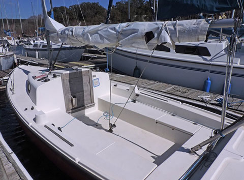 South Coast 21, c.1984 sailboat