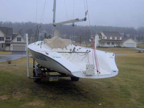 SR Max 21, 1993 sailboat