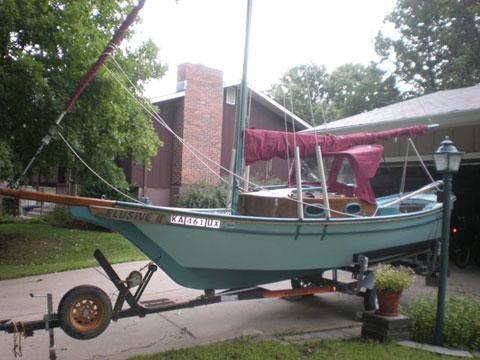 Stevenson Design Weekender, 2002 sailboat