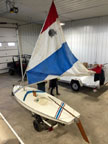 1980 Sunfish sailboat