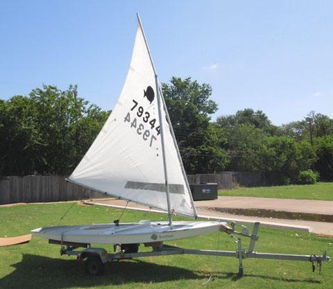 Sunfish Race 13' 9