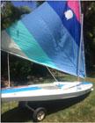 2003 Sunfish sailboat