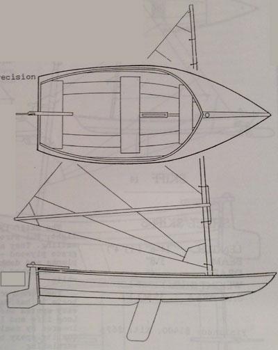 Shell Swifty 14', 1990 sailboat