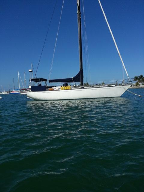 Tartan 41, 1974 sailboat