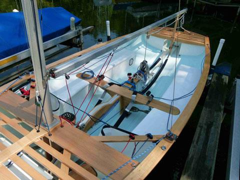 Clark Thistle, 1974 sailboat